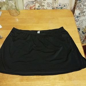 Lane Bryant swim bottom skirt 16
